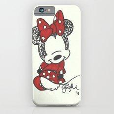 Minnie Mouse Zen Tangle iPhone 6s Slim Case