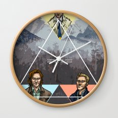 carry on my wayward son Wall Clock