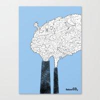 Animal Extinction Canvas Print