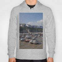 Boats In Tenby Harbour A… Hoody