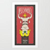 Jellyroll #5: Easter 1 Art Print