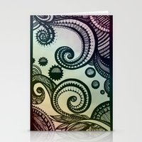 Swirls Stationery Cards