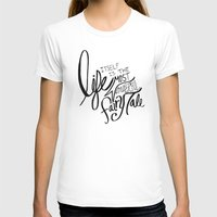 Fairy Tale Womens Fitted Tee White SMALL