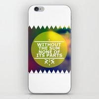 Sum And Parts iPhone & iPod Skin