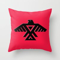 Thunderbird, Emblem Of T… Throw Pillow