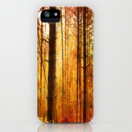 Forest Glow iPhone (5, 5s) Slim Case