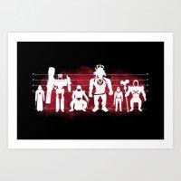 Plastic Villains  Art Print