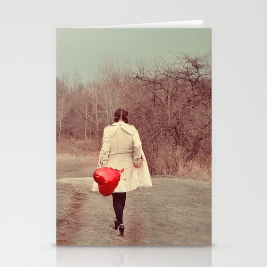 You've Gotta Have Heart Stationery Card