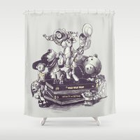 Toy Story Shower Curtain