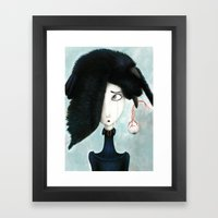 Disappointment Framed Art Print