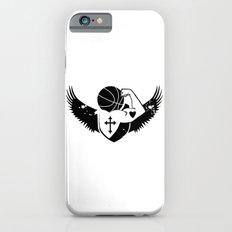 Faith Strength Heart Basketball iPhone 6s Slim Case
