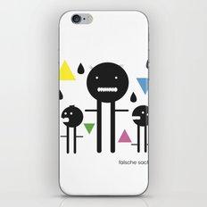 falsche sachen iPhone & iPod Skin