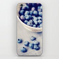 Fresh Blueberries Kitchen Art iPhone & iPod Skin