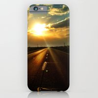 iPhone & iPod Case featuring Leaving the sun behind. by John Martino
