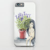 listening to the lavender's breath iPhone 6 Slim Case