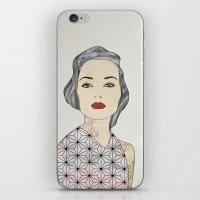 Silver iPhone & iPod Skin