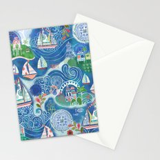 Dream Boats Stationery Cards