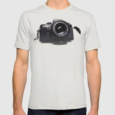 Photographers Love Mens Fitted Tee Silver SMALL