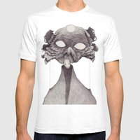 Meeting With Beksinski Mens Fitted Tee White SMALL