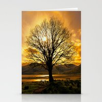 Tree of Fire Stationery Cards