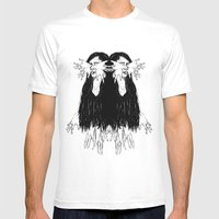 Mirroring Mens Fitted Tee White SMALL