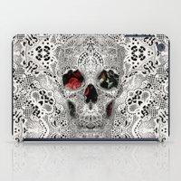 Lace Skull Light iPad Case