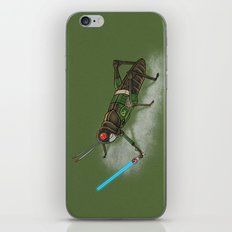 Locust Rider Black RX iPhone & iPod Skin