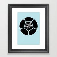 Brazil World Cup 2014 - … Framed Art Print