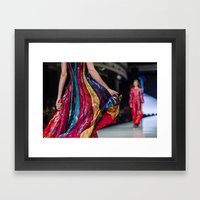 Fashion art Framed Art Print