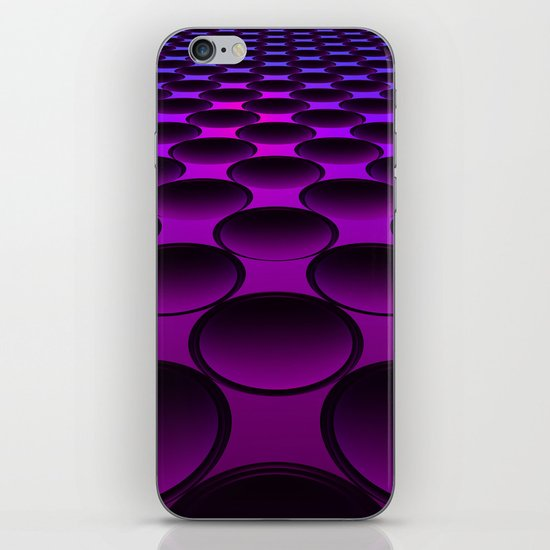 Purple Dimples iPhone & iPod Skin