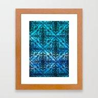 Black Filigree Pattern O… Framed Art Print