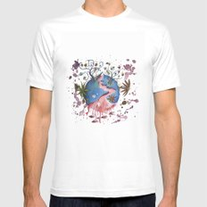 The strange planet White Mens Fitted Tee SMALL