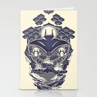 Stationery Card featuring Mantra Ray by Don Lim
