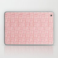 Lines Pink Laptop & iPad Skin