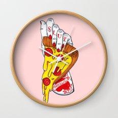 Pizza Slut Wall Clock