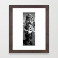 Little Man Framed Art Print