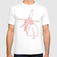Happy Pilgrim Mens Fitted Tee White SMALL