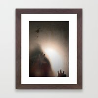 Man Framed Art Print
