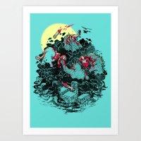 THE BRUNCH Art Print