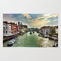 Sunrise on the Grand Canal, Venice Rug