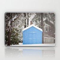 Blue Snow House  Laptop & iPad Skin