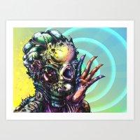 The Deceitful Siren Art Print