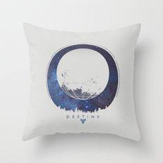 Destiny - Milkyway Throw Pillow