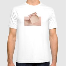 Holding Mens Fitted Tee SMALL White