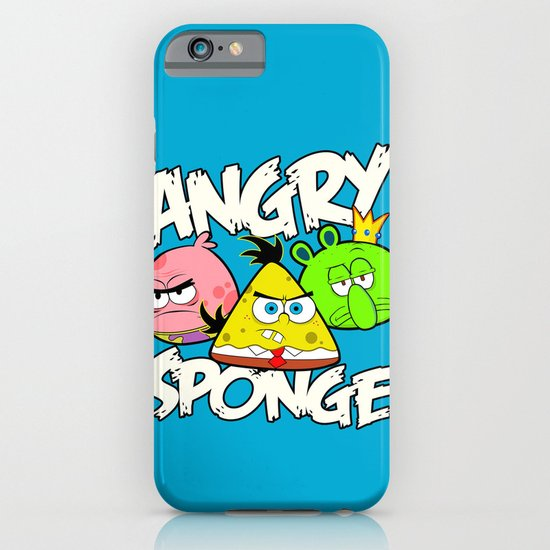 Angry Spongebird - Angry Birds vs SpongeBob iPhone & iPod Case