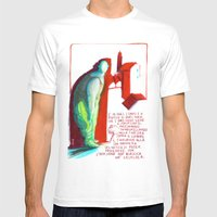 MECCANICA CELESTE Mens Fitted Tee White SMALL