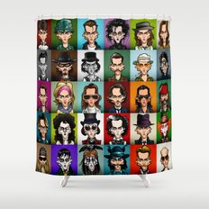 Johnny Shower Curtain
