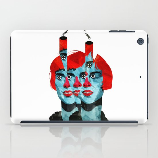 The cats in my head iPad Case