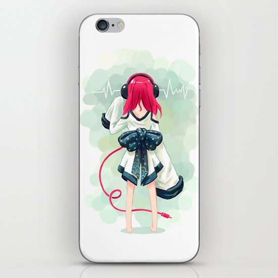 Rhythm iPhone & iPod Skin