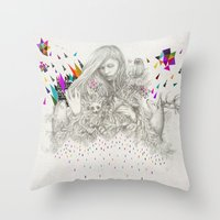 ECHOES By Peter Striffol… Throw Pillow
